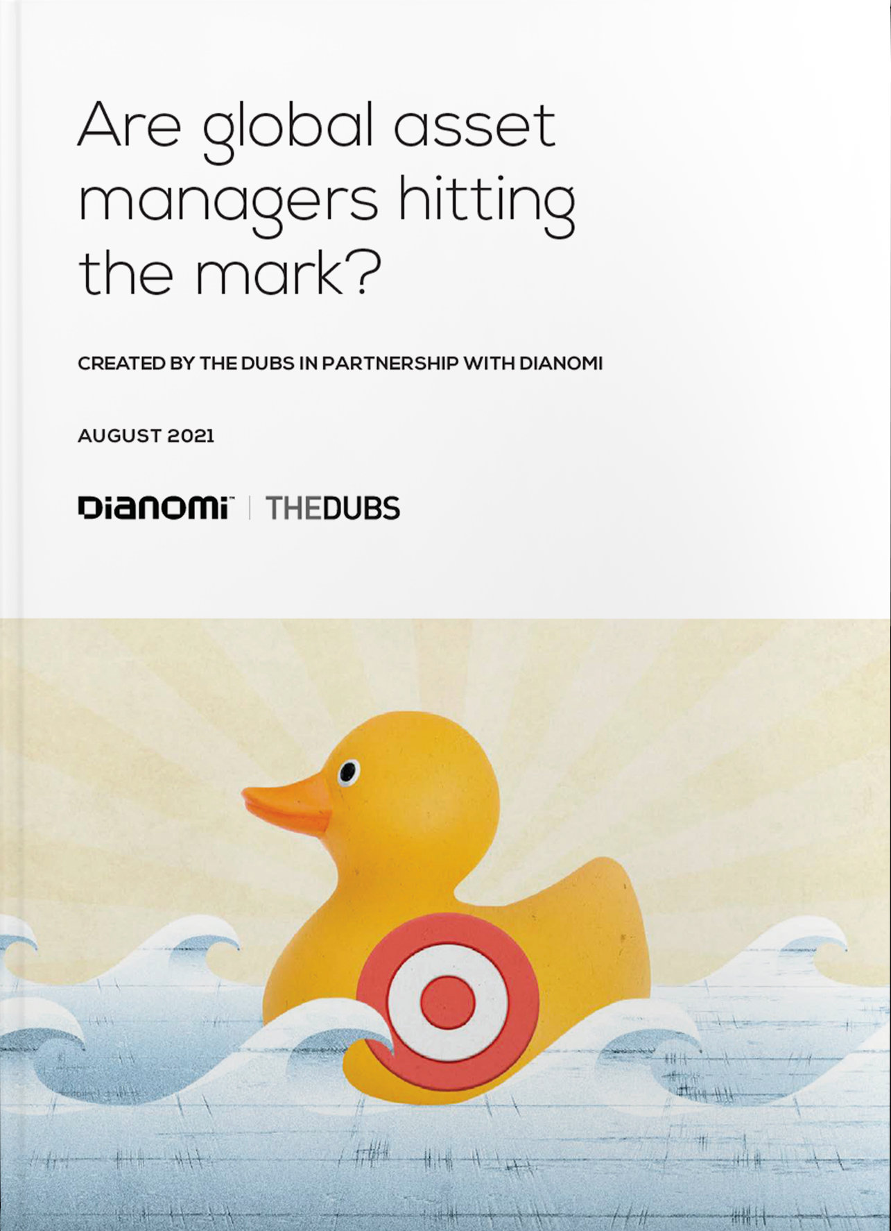 are global asset managers hitting the mark? report cover