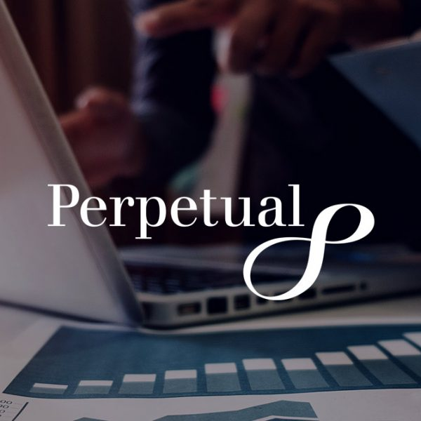 UX: Perpetual leads in the asset management industry header