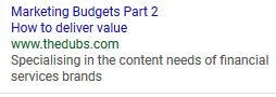 Marketing Budgets Part 1 and 2 header