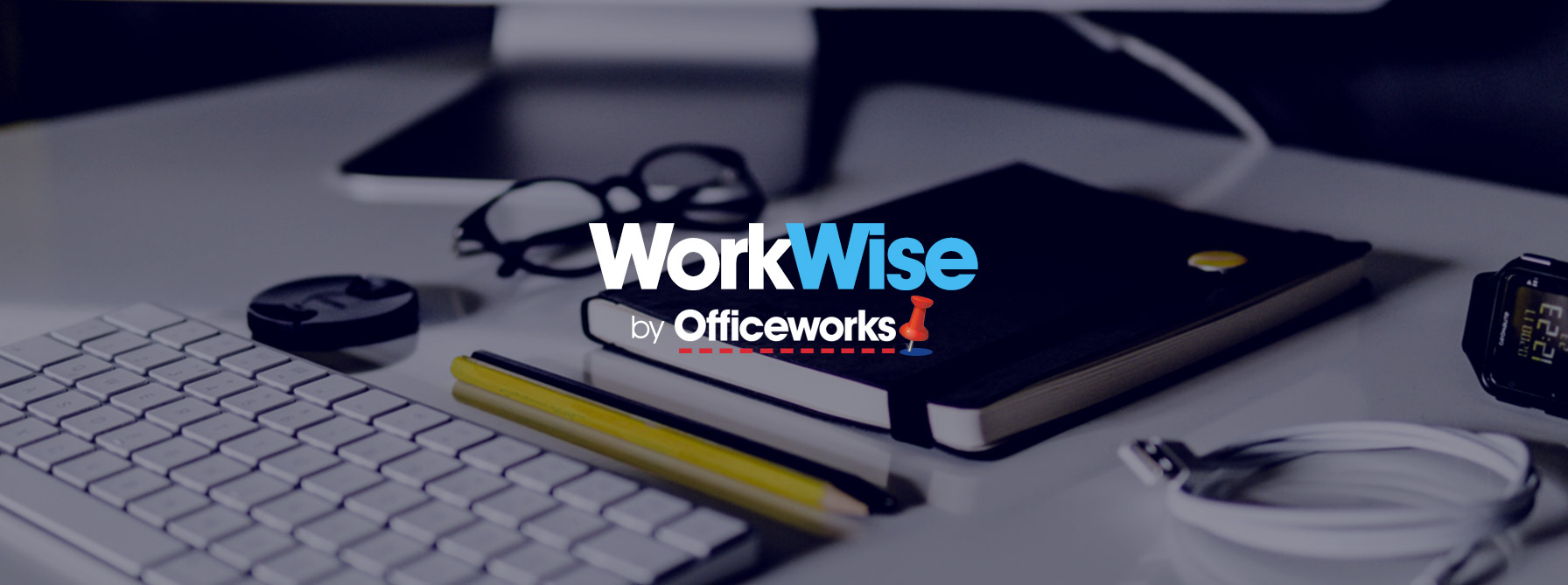 Officeworks amplification-first content marketing strategy header