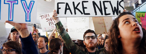 Rally On Fake News