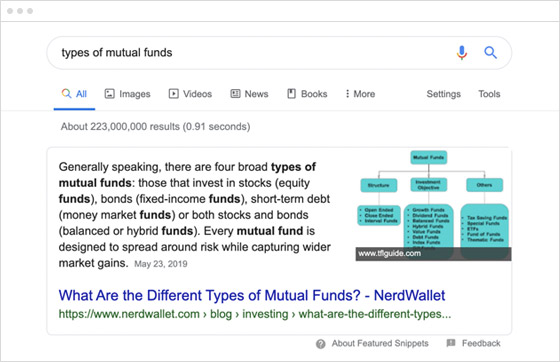 How finance marketers can win the 'featured snippet'