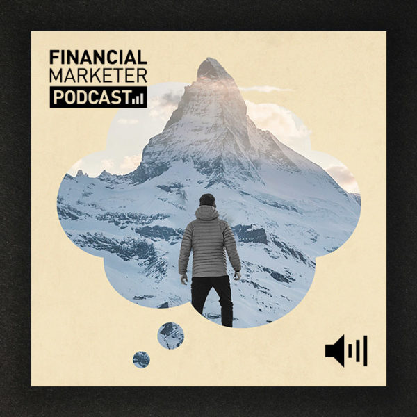 Launching the Financial Marketer podcast header