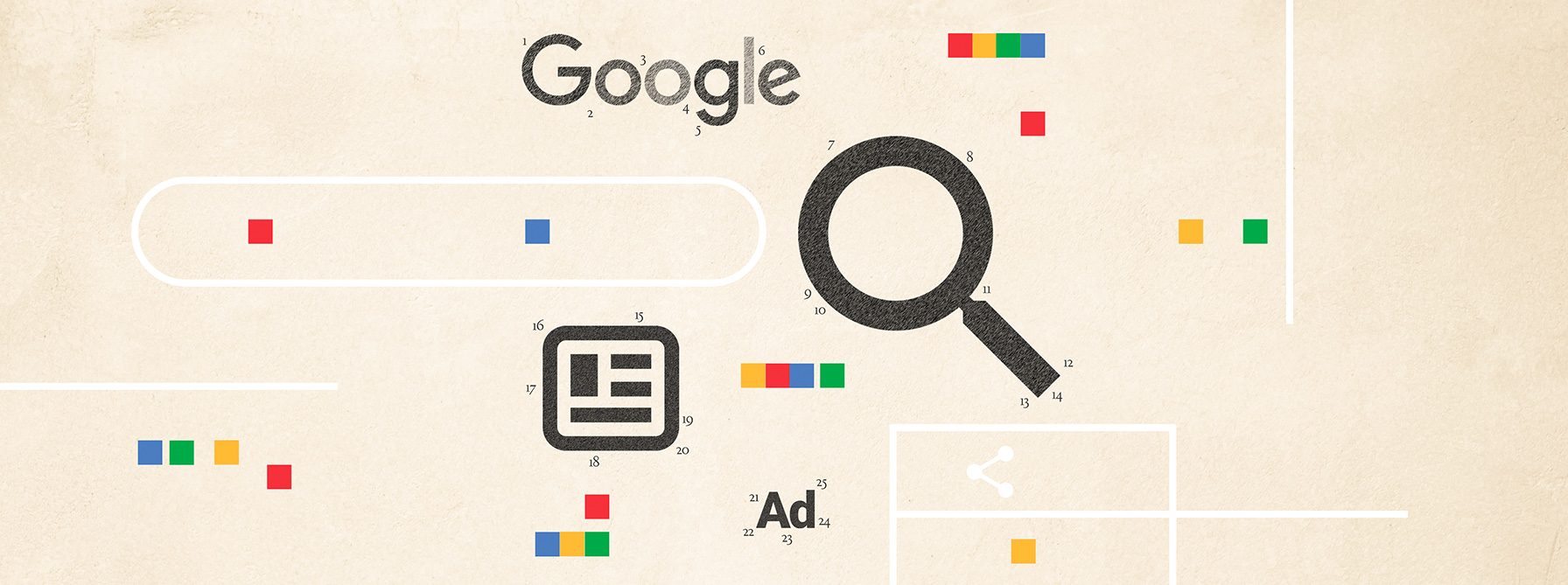 The anatomy of a Google search results page